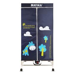 TỦ SẤY QUẦN ÁO LỒNG VẢI MATIKA MTK-CD1218 (2021)